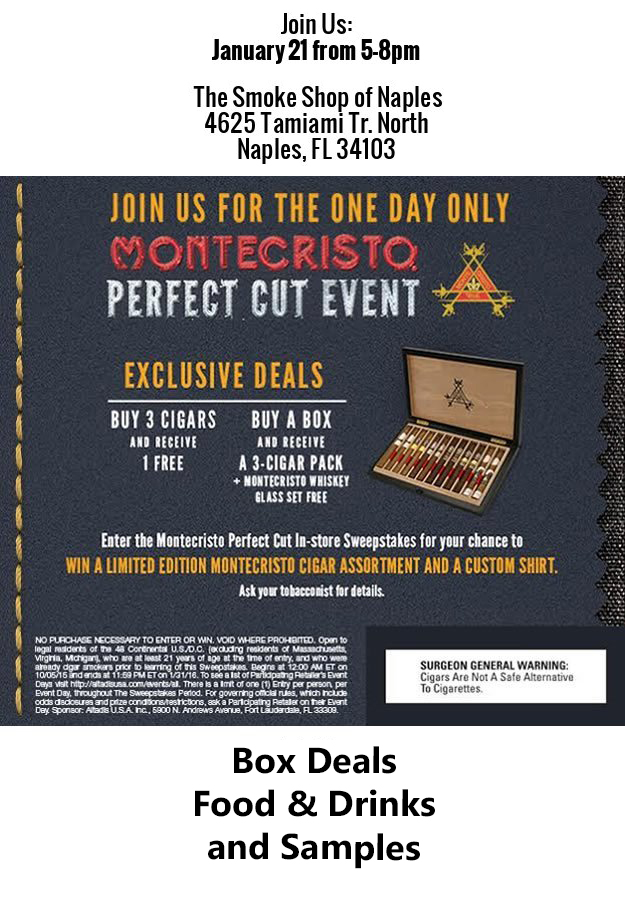 Montecristo Cigar Event